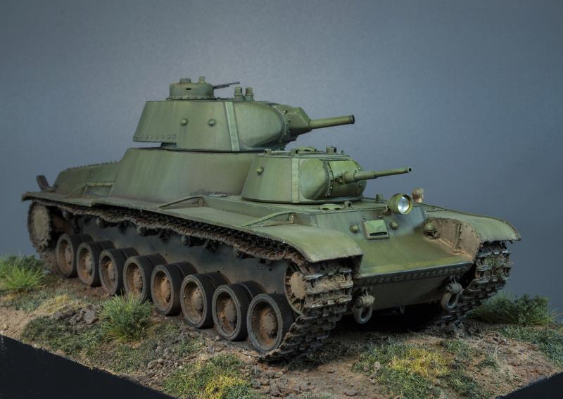 Т-100 Сталинский бронемонстр - Страница 4 7-110