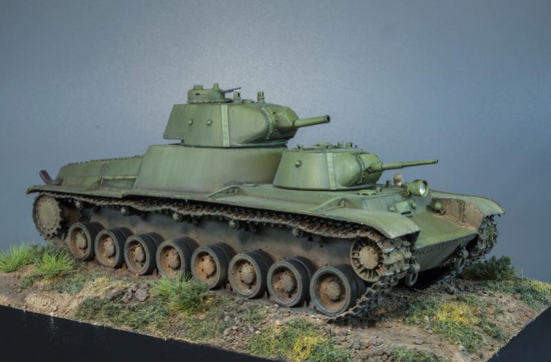 Т-100 Сталинский бронемонстр - Страница 4 715