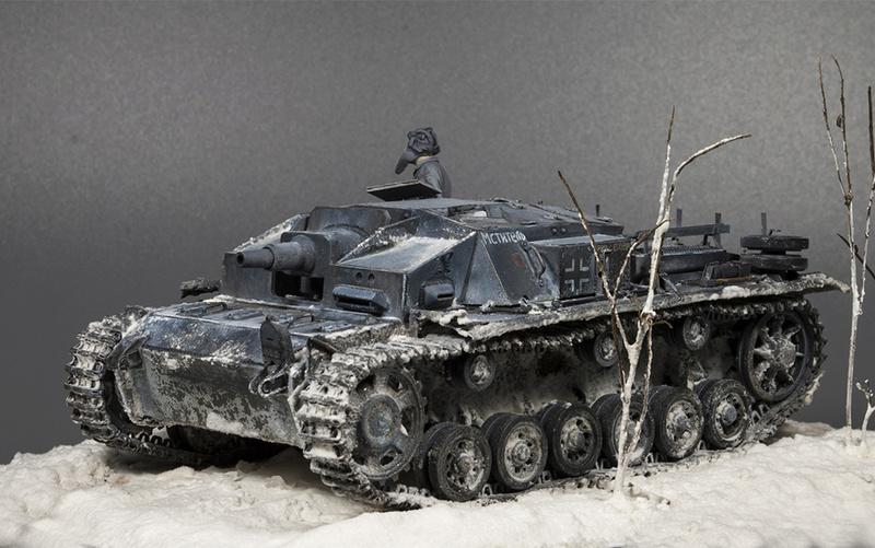 Stug III Ausf C на службе РККА 814