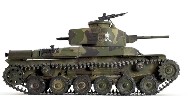 Type 97 Chi-Ha Kai (Shinhoto). Tamiya 1/35. Da83ba10