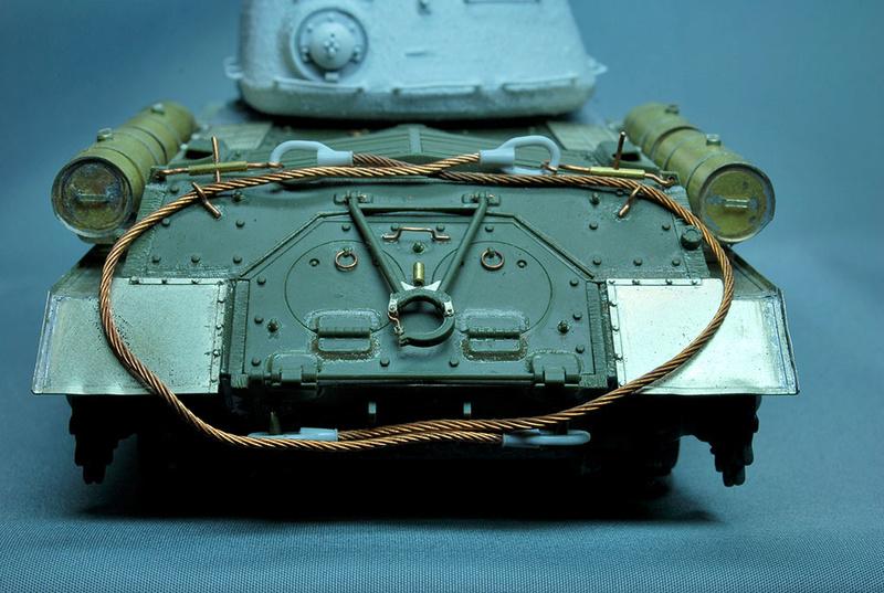 Трое из ларца-одинаковых с лица КВ-85, КВ-122 и ИС-2 Dsc_0654