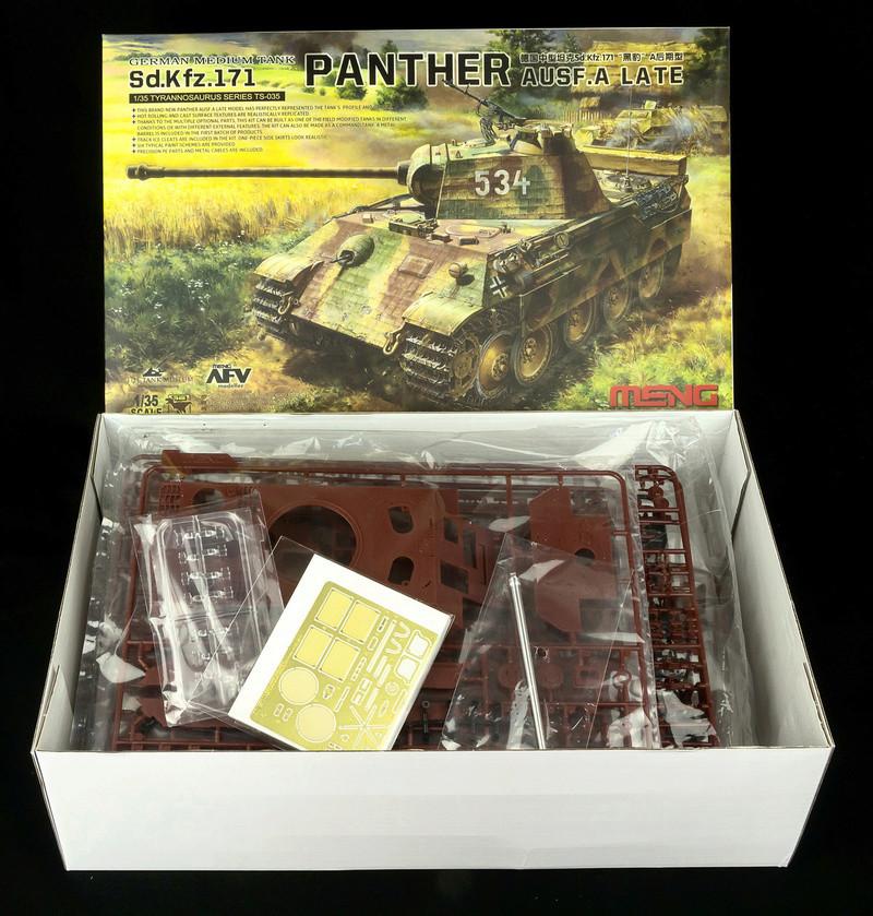 PzKpfw V ausf A Panther из роты Сотникова Meng_p10