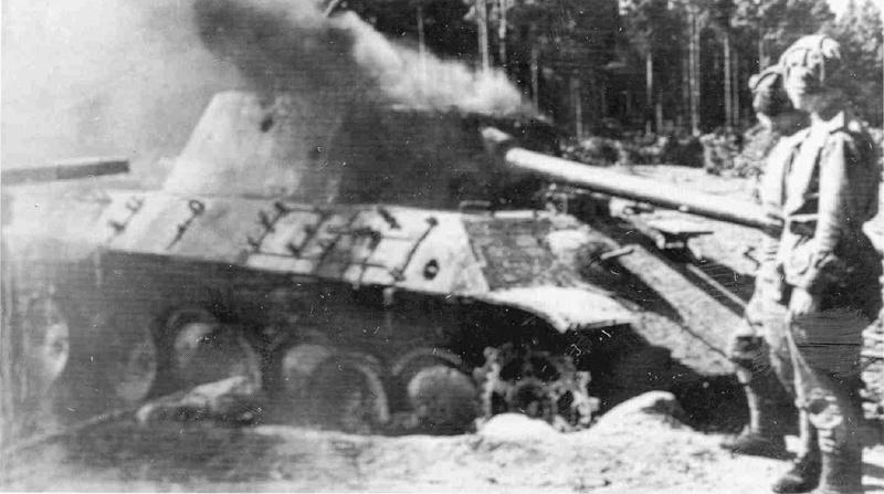 PzKpfw V ausf A Panther из роты Сотникова Panthe11