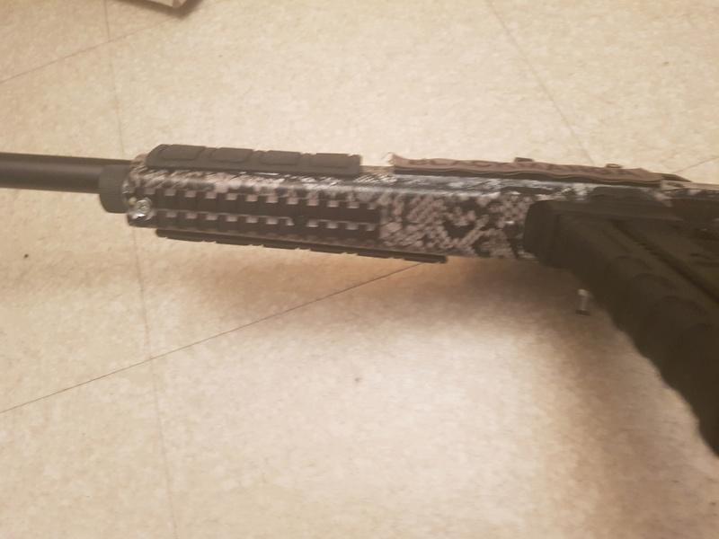 Suite de ma carabine us qui ce transforme en sniper 20180511