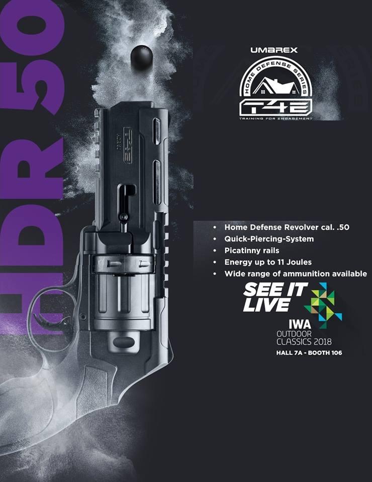 Nouveau lanceur de poing calibre 50 de chez umarex pour août  C6448110