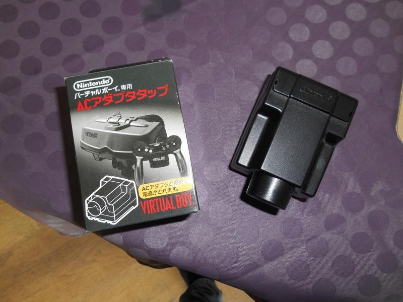 Virtual Boy + 7 jeux Adapta11