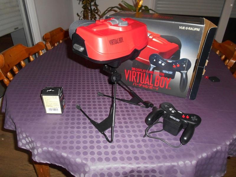 Virtual Boy + 7 jeux Virtua10