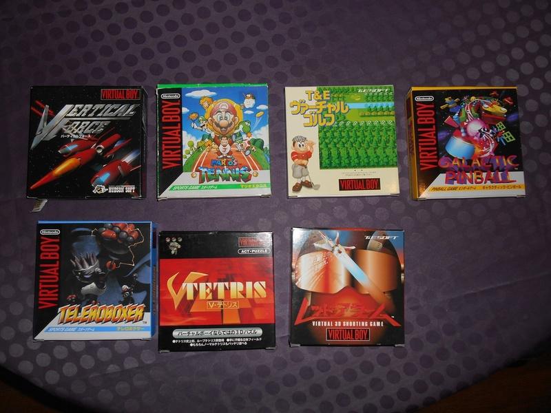 Virtual Boy + 7 jeux Virtua11