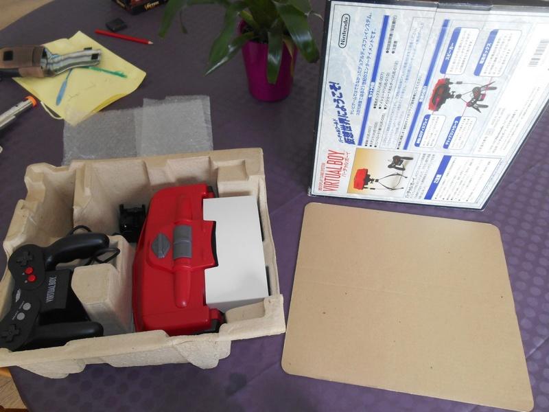 Virtual Boy + 7 jeux Virtua15