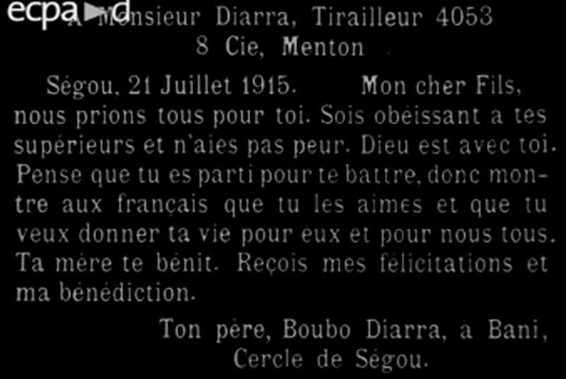 Tirailleurs Sénégalais guerre de 1914-1918 Se10
