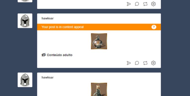 [OFF topic]  aquele momento que o tumblr  criar Lei de conteudo adulto Fd10