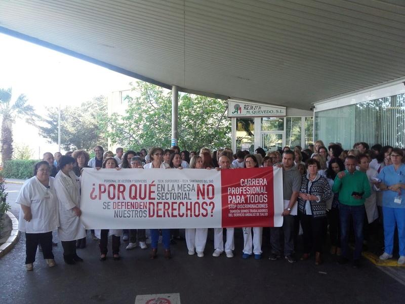 COMIENZAN LAS MOVILIZACIONES POR LA CARRERA PROFESIONAL PARA TODOS 2018-010