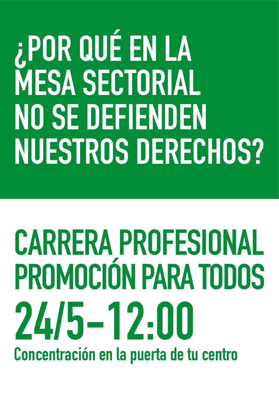 NUEVAS CONCENTRACIONES POR LA CARRERA PROFESIONAL PARA TODOS Diptic10