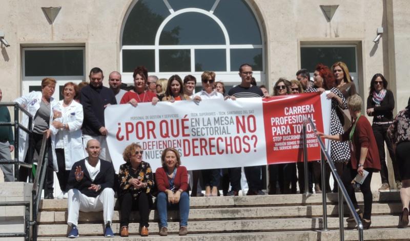 COMIENZAN LAS MOVILIZACIONES POR LA CARRERA PROFESIONAL PARA TODOS Dscn1010