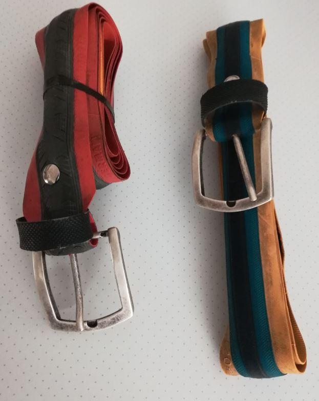 Cinture con copertoni di bicicletta Cintur26