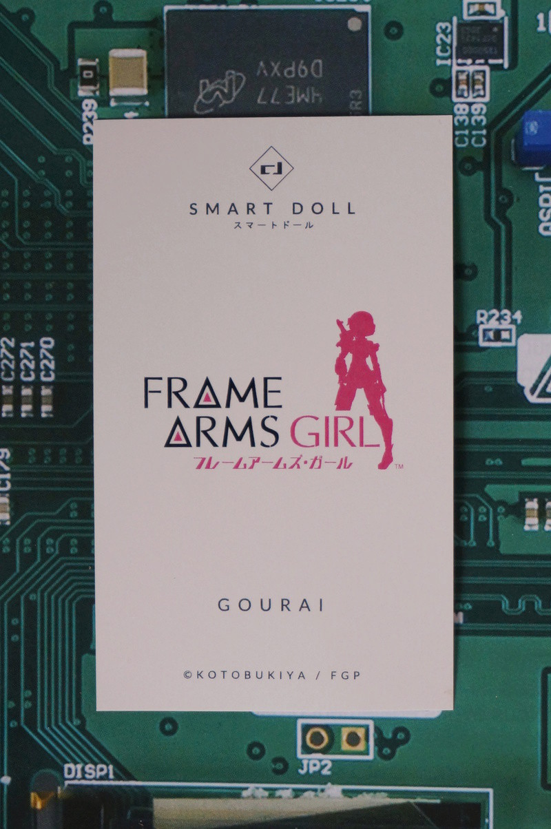 [Smart Doll] Frame Arms Girl - Gourai - Page 3 Dsc09633