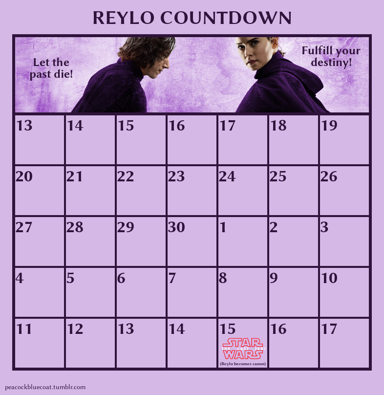 The Last Jedi Countdown Reylo_11