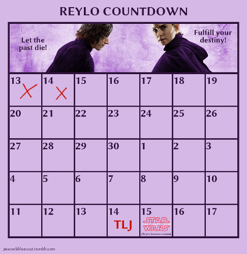 The Last Jedi Countdown Reylo_13