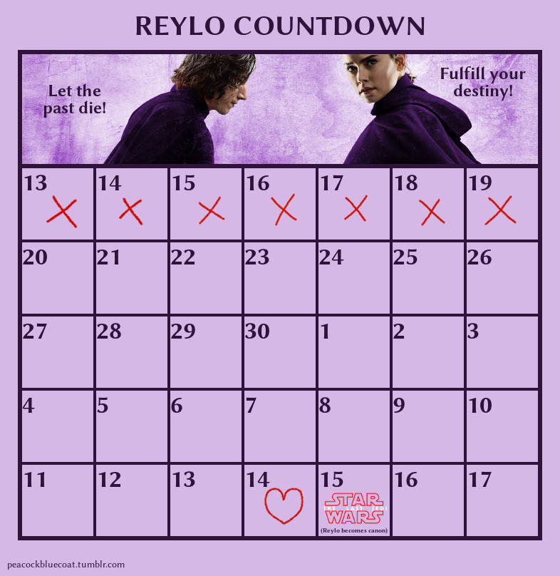 The Last Jedi Countdown Reylo_17
