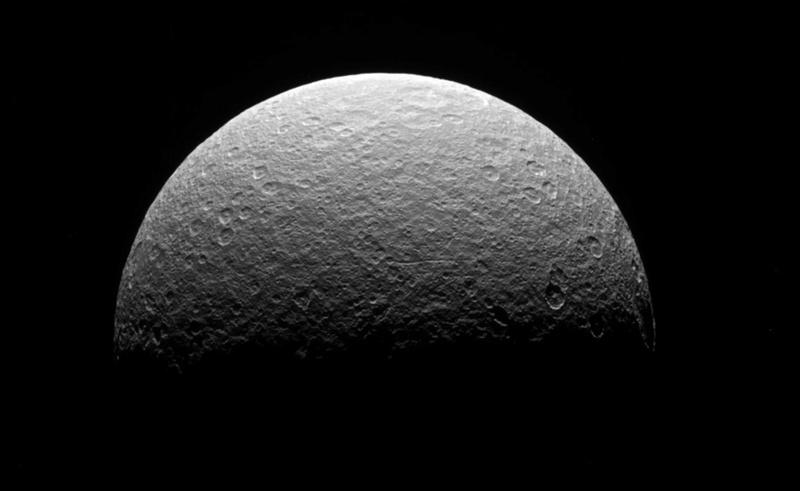 Analyse des données de Cassini, après la fin de sa mission Rhea-c10
