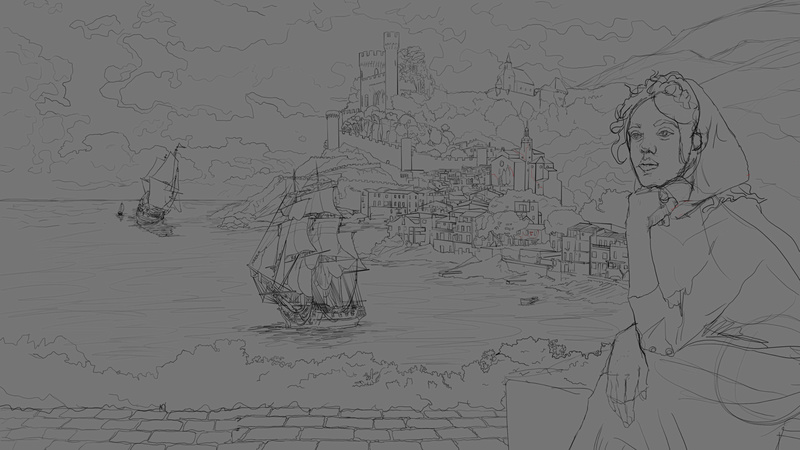 Twrch - croquis - Study painting - WIP  - Page 10 Illust10