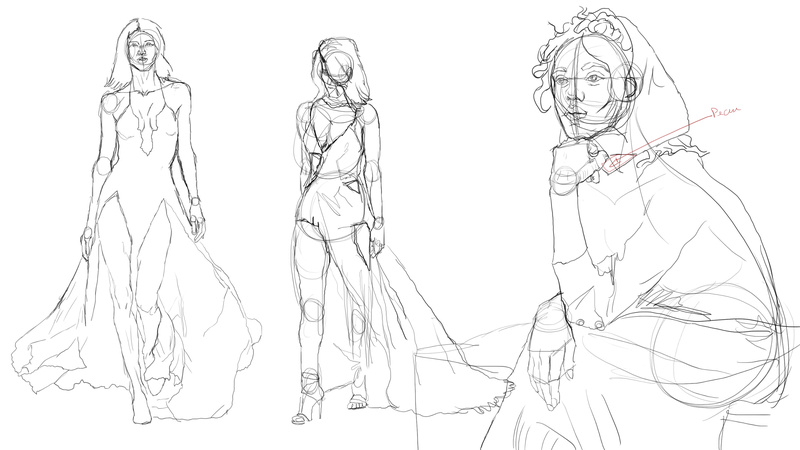 Twrch - croquis - Study painting - WIP  - Page 10 Sketch11
