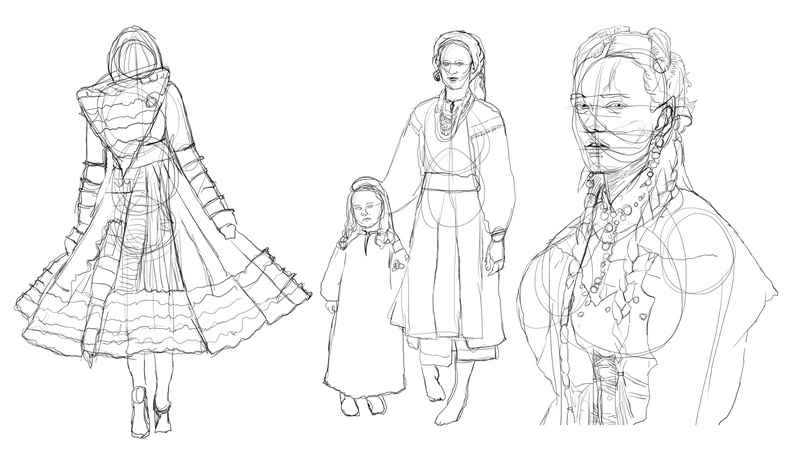 Twrch - croquis - Study painting - WIP  - Page 10 Sketch13