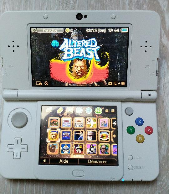 [VENDU] new 3DS sous luma 412