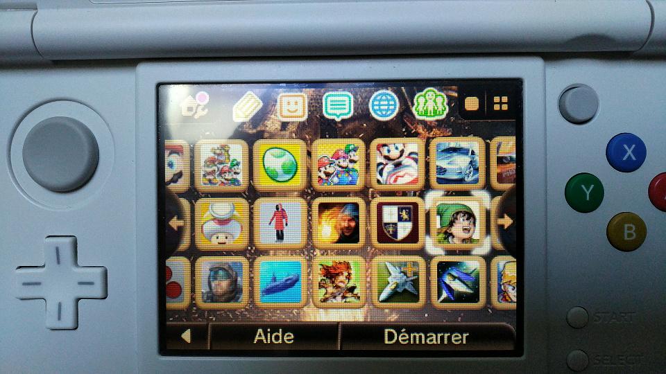 [VENDU] new 3DS sous luma 512