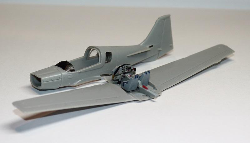 [Airfix] S.A. Bulldog- 1/72ème (année civile) Img_3612