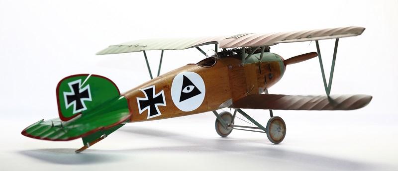 [cage à poules ] - Albatros D III - Eduard - 1/48ème. Terminé - Page 2 Img_3716