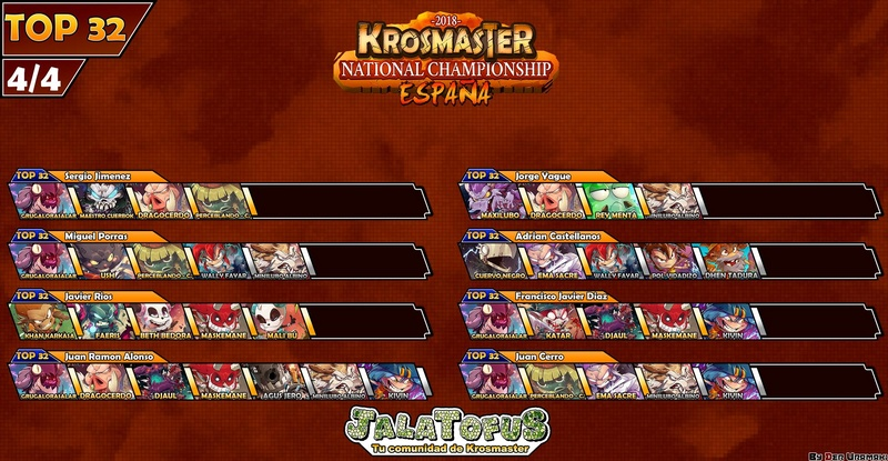 krosmaster - Les tops 16 des différents championnats nationaux Krosmaster 2017  28616510