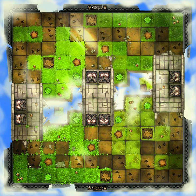 krosmaster - Résumé : tournoi exceptionnel Krosmaster le 25/02/2018 Map_ci11
