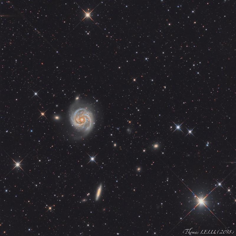 Bérénice et sa galaxie M100ab10