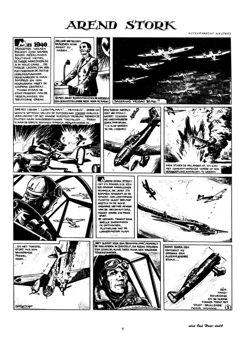 Arend Stork et autres BD d'Henk Sprenger Oudhou11