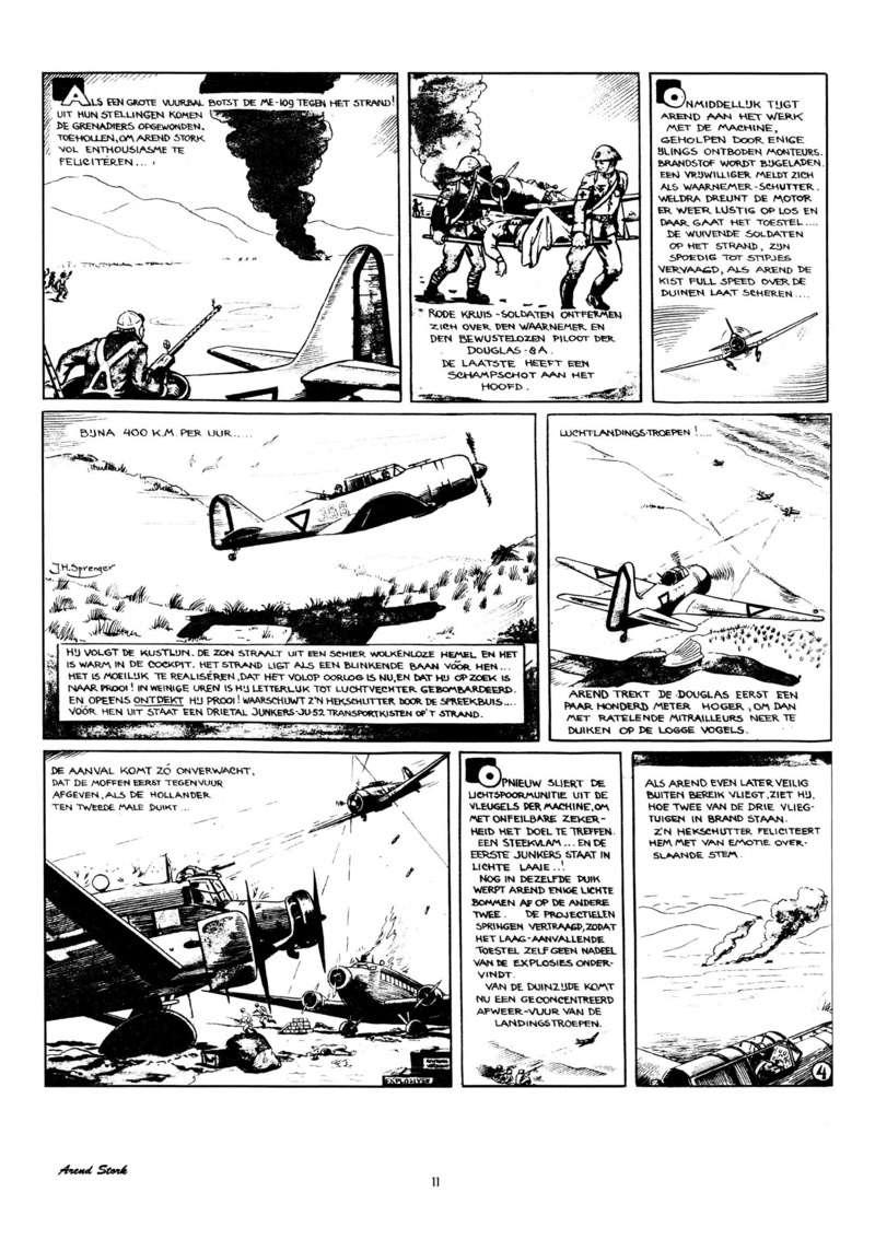 Arend Stork et autres BD d'Henk Sprenger Oudhou12