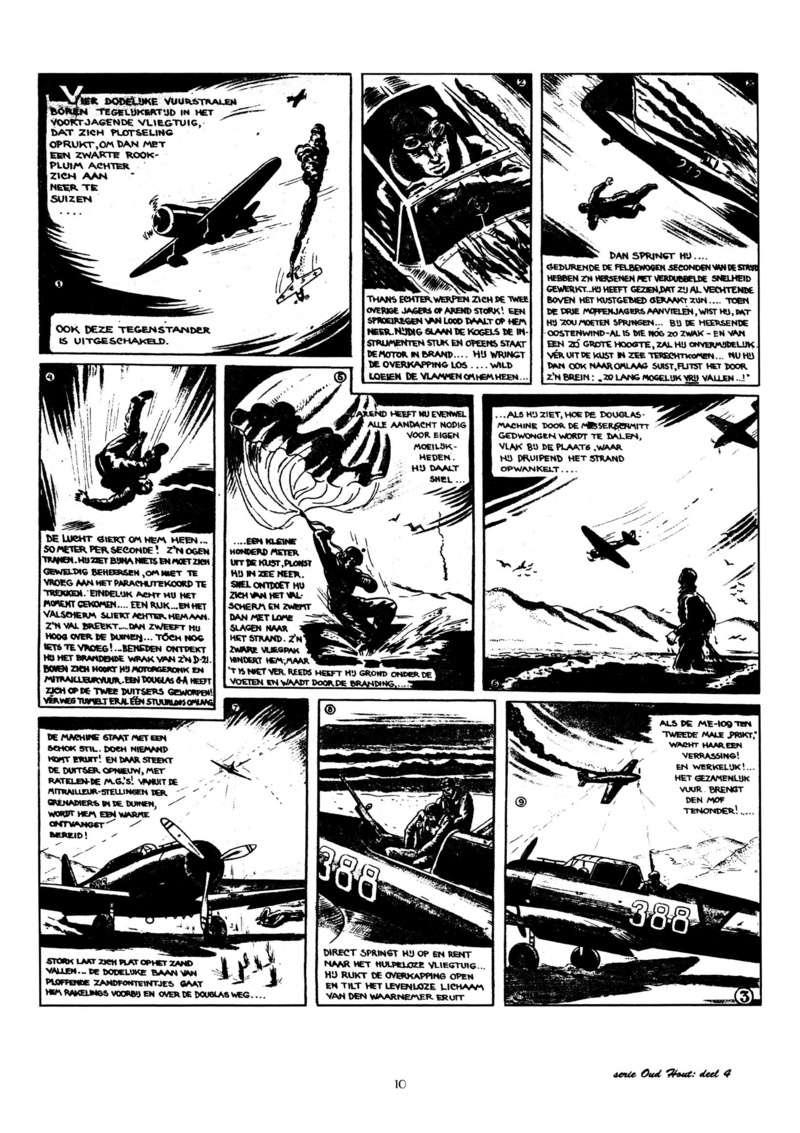 Arend Stork et autres BD d'Henk Sprenger Oudhou13