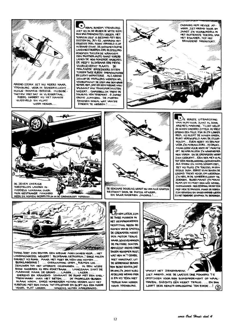 Arend Stork et autres BD d'Henk Sprenger Oudhou14