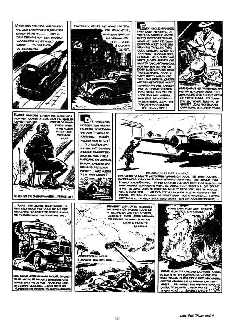 Arend Stork et autres BD d'Henk Sprenger Oudhou17
