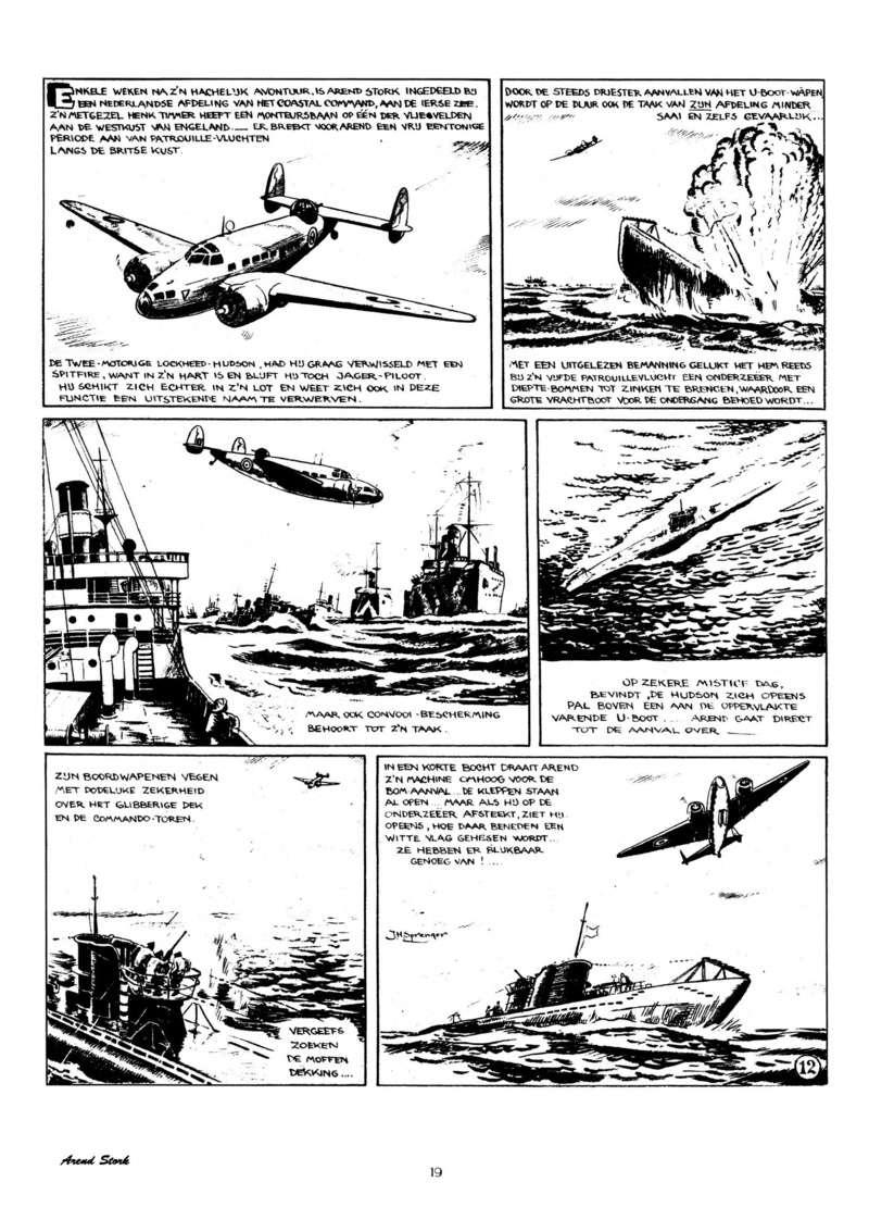 Arend Stork et autres BD d'Henk Sprenger Oudhou21