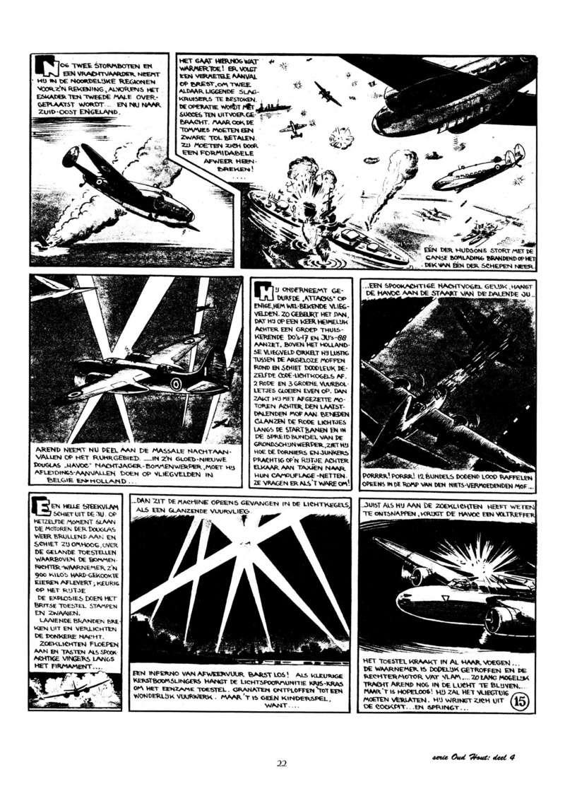 Arend Stork et autres BD d'Henk Sprenger Oudhou24