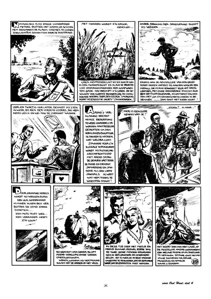 Arend Stork et autres BD d'Henk Sprenger Oudhou27