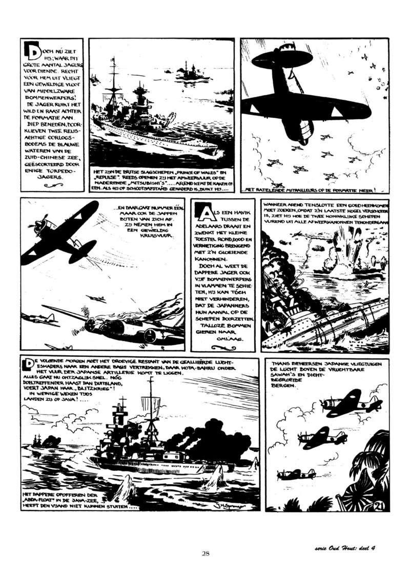 Arend Stork et autres BD d'Henk Sprenger Oudhou31