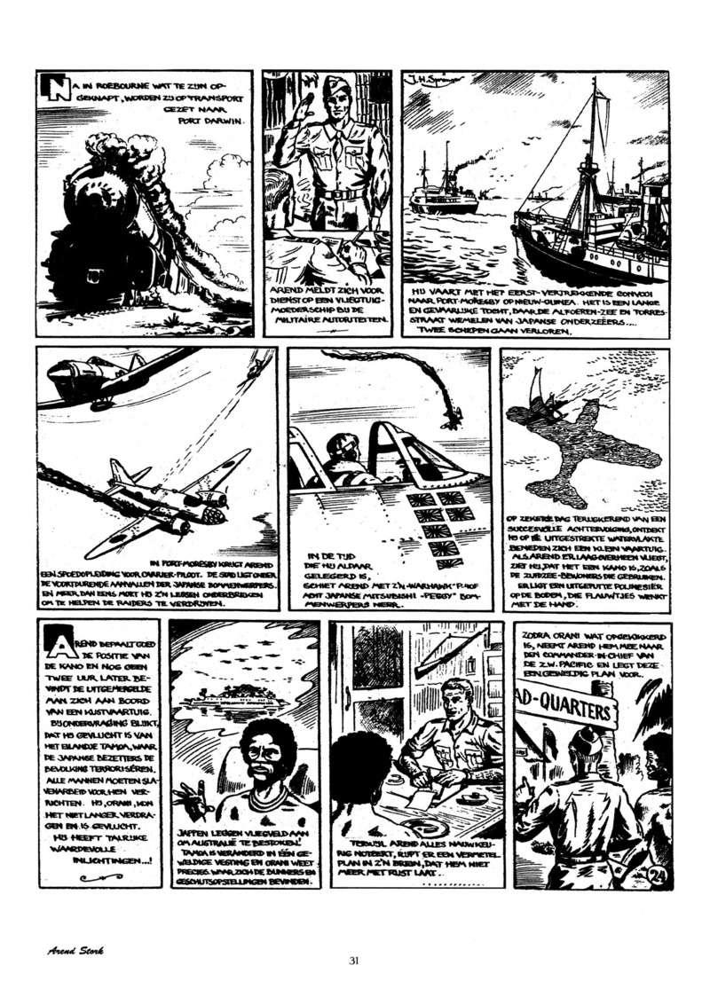 Arend Stork et autres BD d'Henk Sprenger - Page 2 Oudhou34