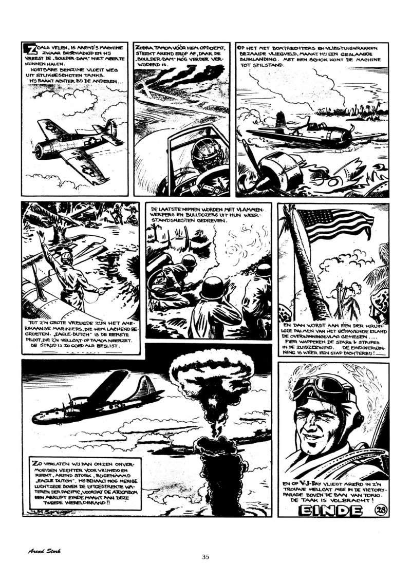 Arend Stork et autres BD d'Henk Sprenger - Page 2 Oudhou40