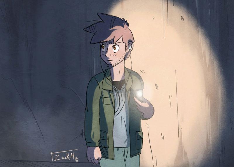 [WEBCOMIC] Zack Hitori - Page 5 Strip_10