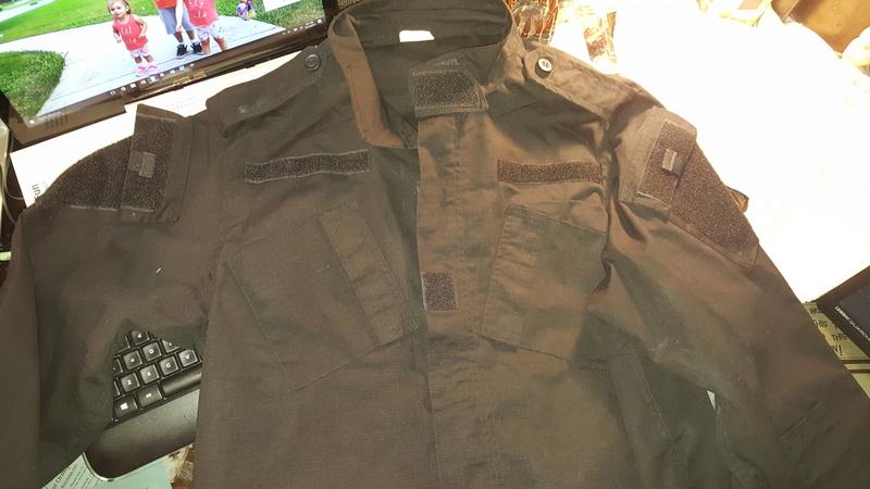 Black Uniform Jackets - SOF 20171211