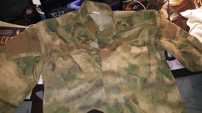 Unusual Cammo Pattern Uniform 20180214