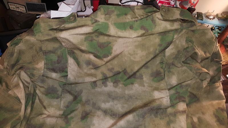 Unusual Cammo Pattern Uniform 20180216
