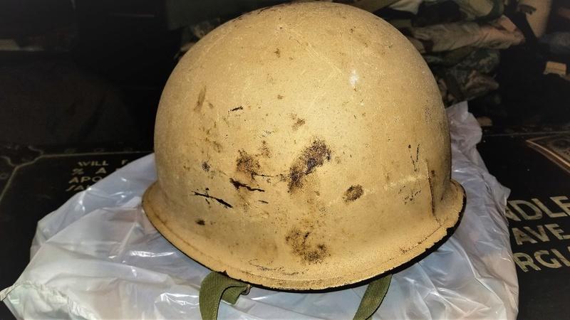 Desert Tan Helmet 20180415